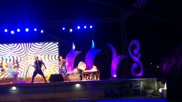 Musical Dance event on stage lawn in Nagpur