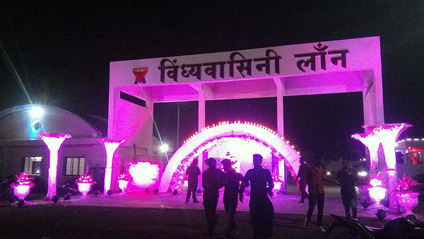 Wedding Lawn Nagpur Main Gate Decoration